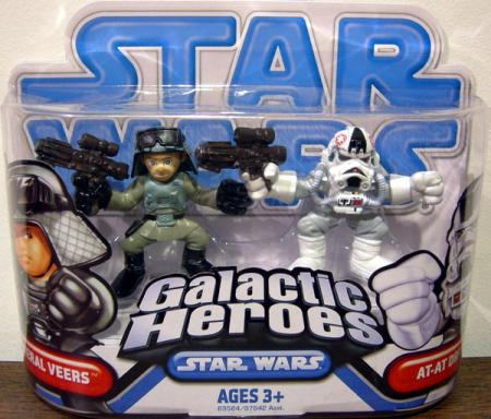 General Veers AT-AT Driver Galactic Heroes action figures