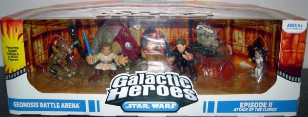 Geonosis Battle Arena 6-Pack Galactic Heroes