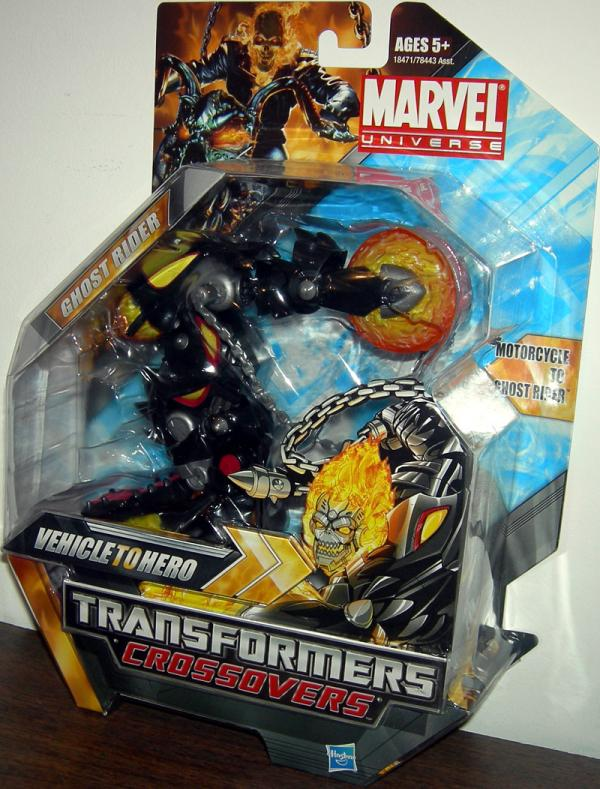Ghost Rider Transformers Crossovers Action Figure Hasbro