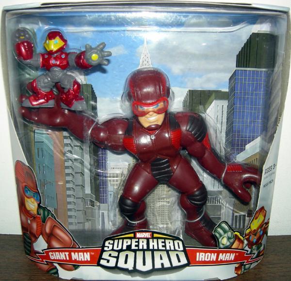 Giant Man Iron Man Super Hero Squad