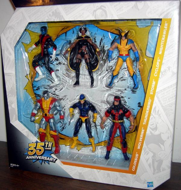 Giant-Size X-Men 35th Anniversary 6-Pack Marvel Universe