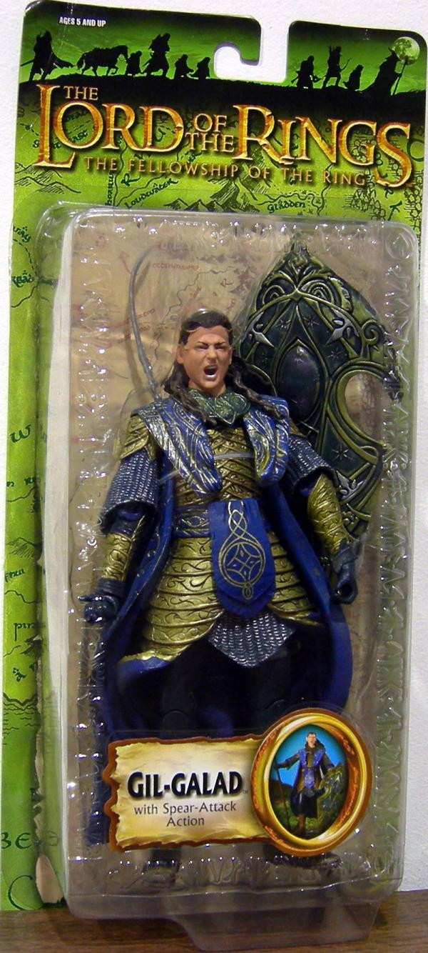 Gil-Galad Figure Trilogy Lord Rings Fellowship Ring Toy Biz