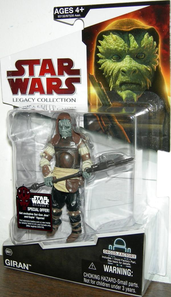 Giran BD21 Star Wars Legacy Collection action figure