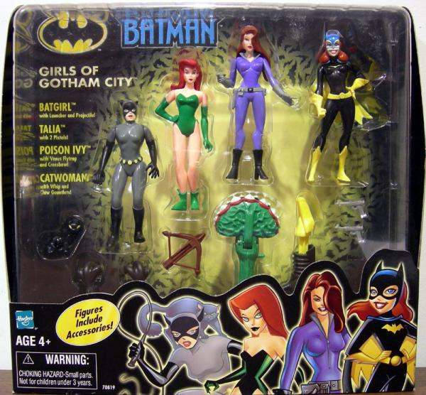Girls Gotham City Batman 4-Pack action figures