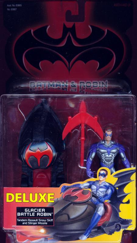Glacier Battle Robin Batman Robin