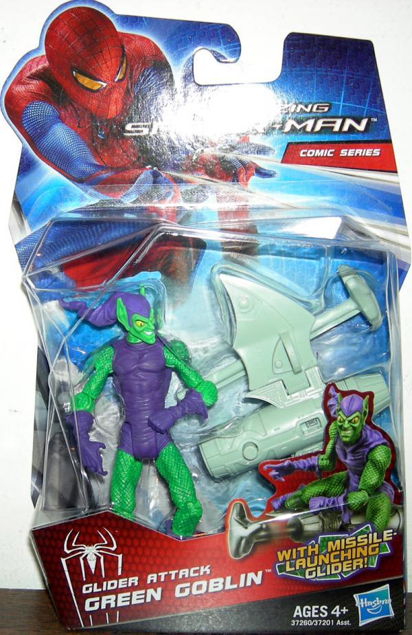 Glider Attack Green Goblin Amazing Spider-Man Movie
