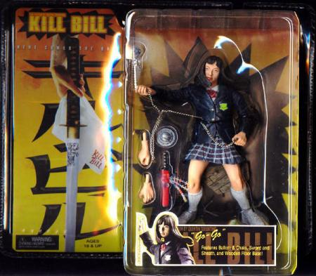 Go-Go Figure Kill Bill Movie Neca