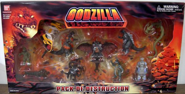 Godzilla 10-Pack Destruction
