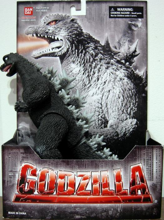 Godzilla 1968 Bandai Creations