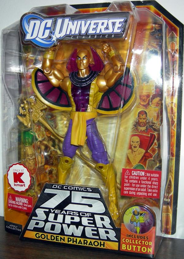 Golden Pharaoh DC Universe