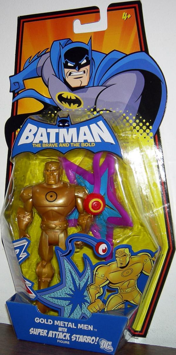 Gold Metal Men Super Attack Starro!
