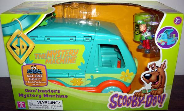 Goobusters Mystery Machine Scooby-Doo Vehicle Character