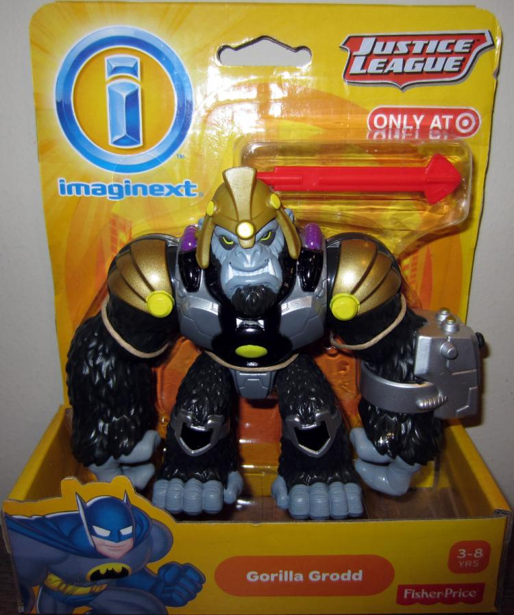 Gorilla Grodd Imaginext Action Figure Justice League Target Exclusive