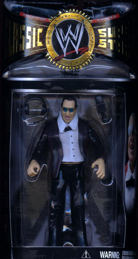 Gorilla Monsoon WWEClassic Superstars Series 7 Action Figure Jakks
