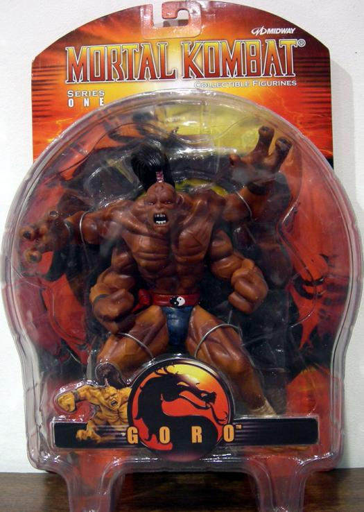 Goro Mortal Kombat Action Figure Palisades Series 1