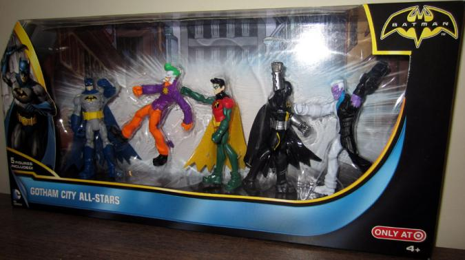 Gotham City All-Stars Target exclusive action figures