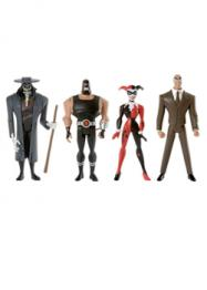 Justice League Unlimited Gotham City Criminals 4-Pack