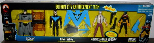 Gotham City Enforcement Team 4-Pack