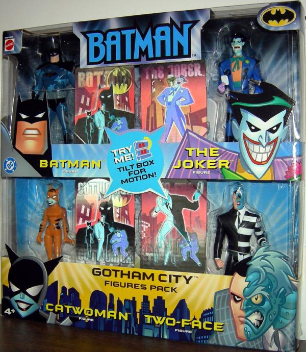 Gotham City Figures 4-Pack series 2
