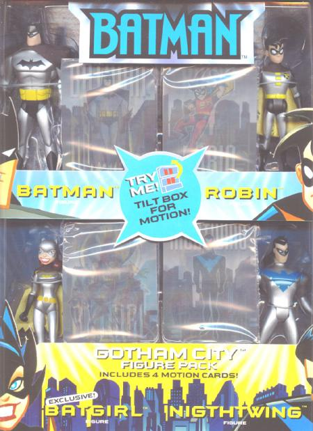 Gotham City Figures 4-Pack