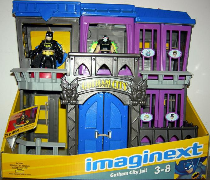 Gotham City Jail Imaginext