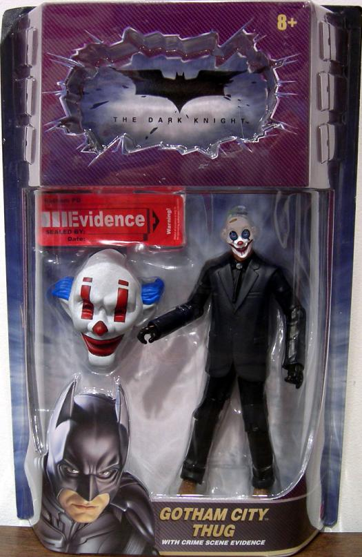 Gotham City Thug Figure Movie Masters Dark Knight Laughing Face Mask