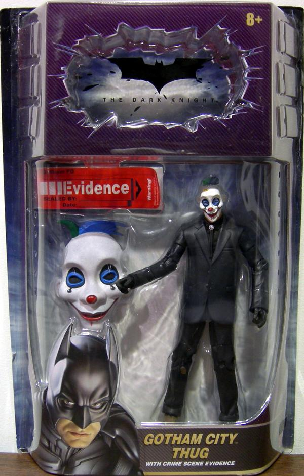 Gotham City Thug Figure Movie Masters Dark Knight Same Mask