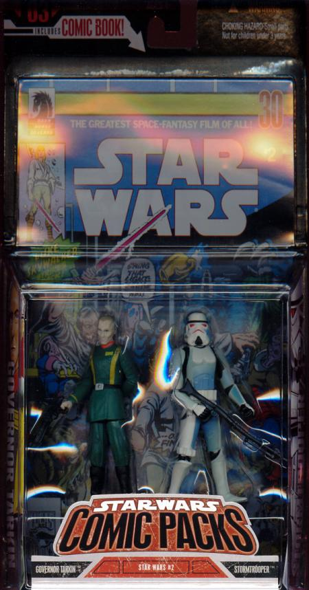 Governor Tarkin Stormtrooper Comic Packs