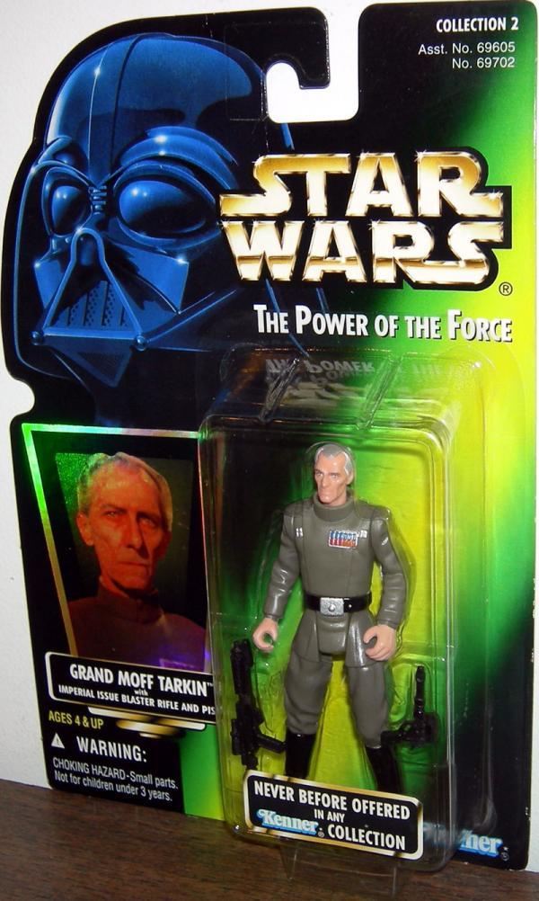 Grand Moff Tarkin Action Figure Green Card Collection 2 Star Wars