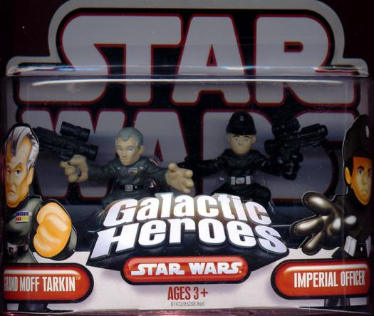 Grand Moff Tarkin Imperial Officer Figures Galactic Heroes