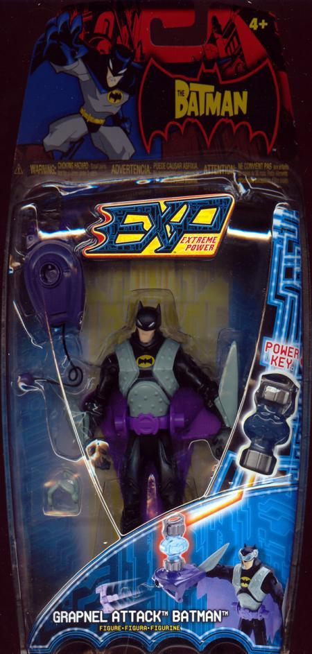 Grapnel Attack Batman EXP