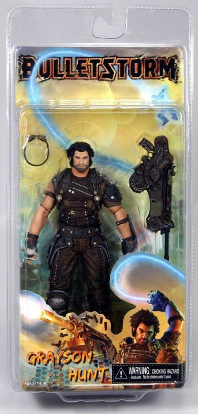 Grayson Hunt Bulletstorm action figure