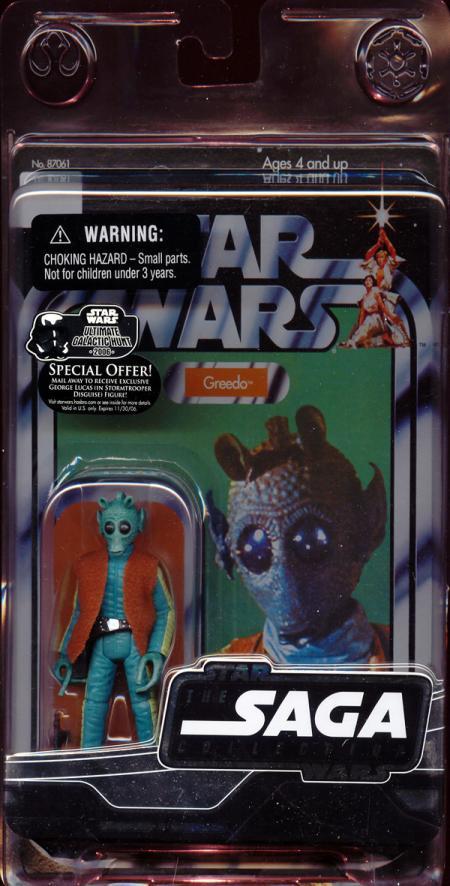 Greedo Figure Vintage Saga Collection Star Wars