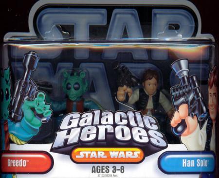 Greedo Han Solo Galactic Heroes