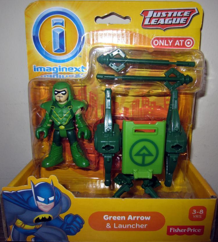 Green Arrow Launcher Figure Imaginext Justice League Target Exclusive