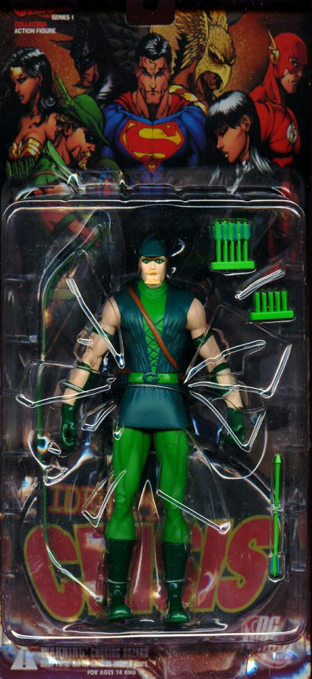 Green Arrow Figure Identity Crisis Series 1