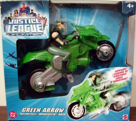 Green Arrow Motorcycle Justice League Unlimited