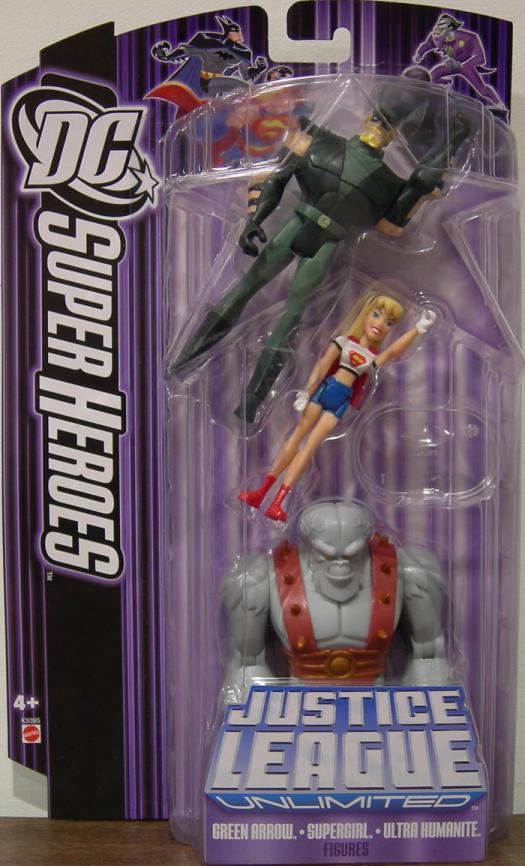 Green Arrow, Supergirl Ultra Humanite 3-Pack