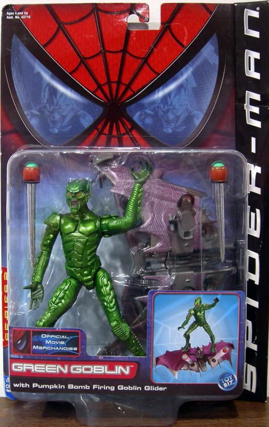 Green Goblin Action Figure Spider-Man Movie Toy Biz