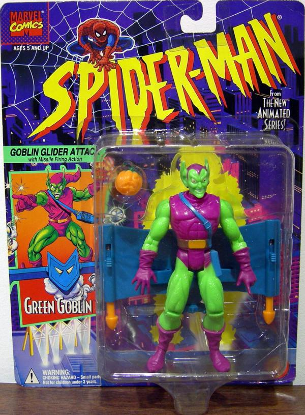 Green Goblin Action Figure Spider-Man Animated Toy Biz