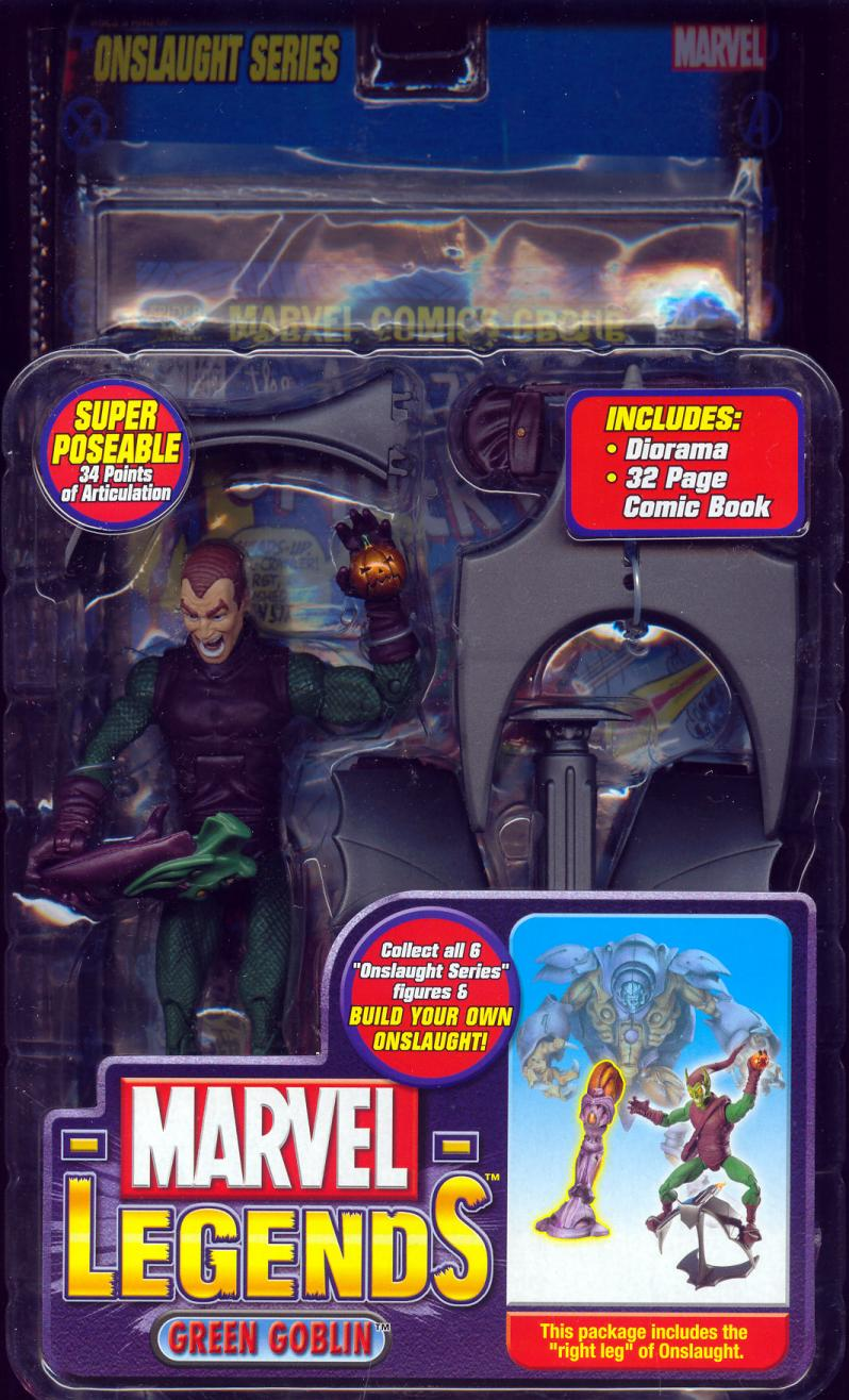 Green Goblin Marvel Legends variant