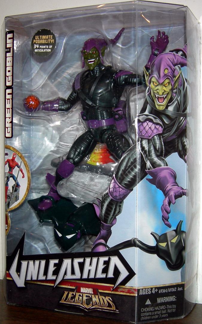 Green Goblin Marvel Legends Unleashed action figure