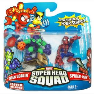 Green Goblin Spider-Man Super Hero Squad