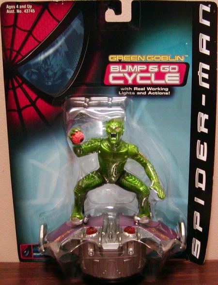 Green Goblin Bump Go Glider movie