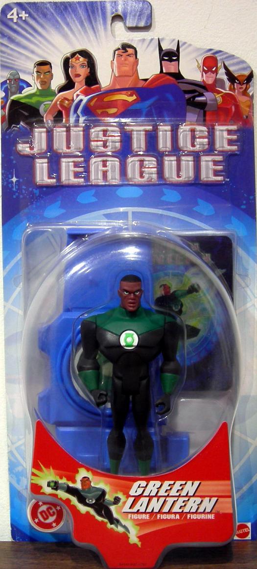 Green Lantern Justice League action figure