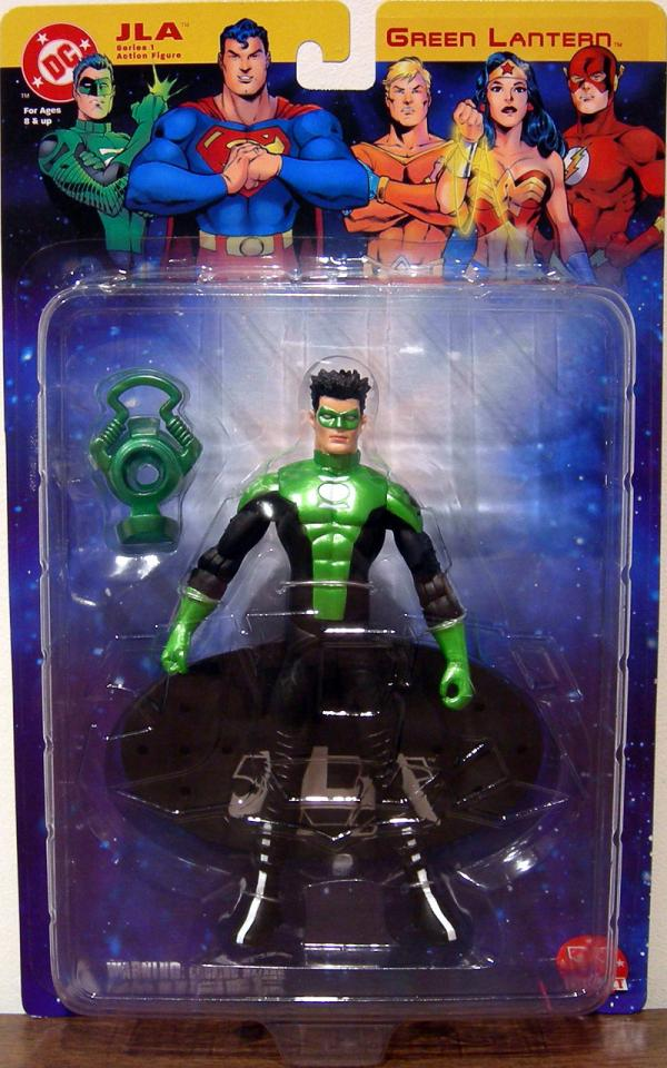 Green Lantern Kyle Rayner, DC Direct JLA