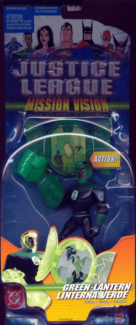 Green Lantern Mission Vision