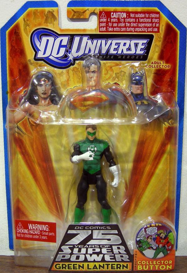 Green Lantern Action Figure Infinite Heroes 75 Years of Super Power