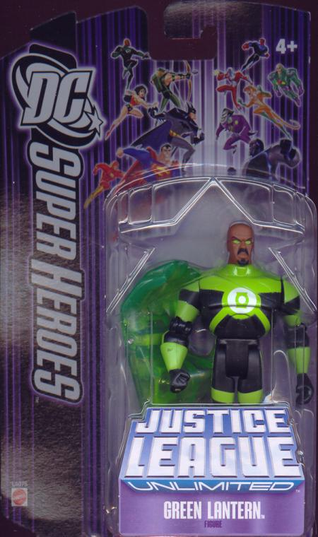 Green Lantern DC SuperHeroes Justice League Unlimited