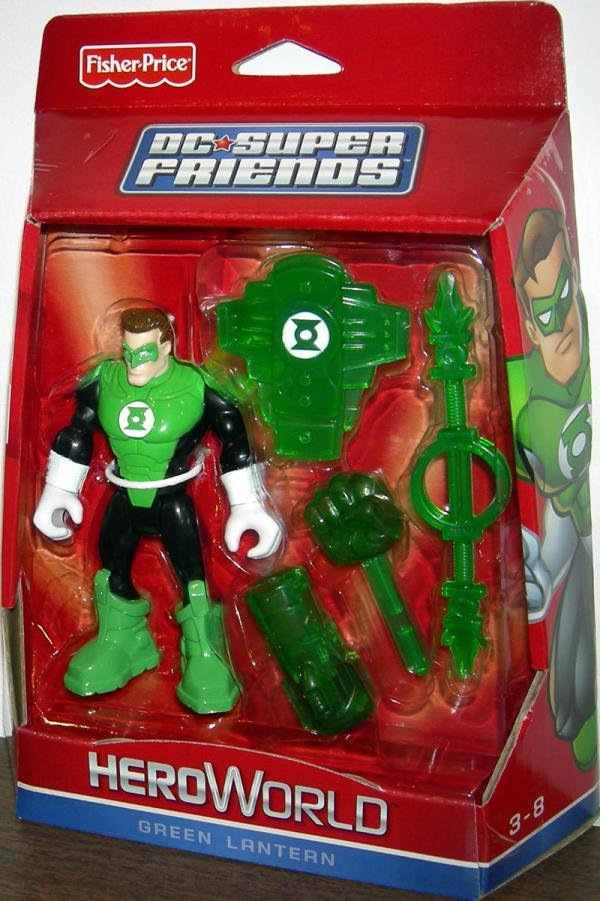 Green Lantern DC Super Friends HeroWorld
